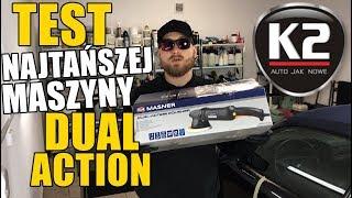 TEST NAJTAŃSZEJ MASZYNY DUAL ACTION 15mm MASNER K2 / SWAGTV