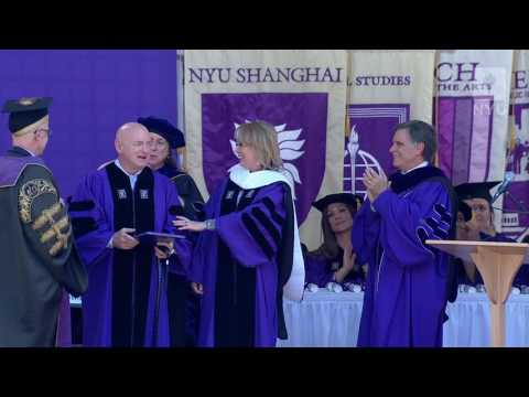 NYU Commencement 2017--Awarding the Honorary Degrees