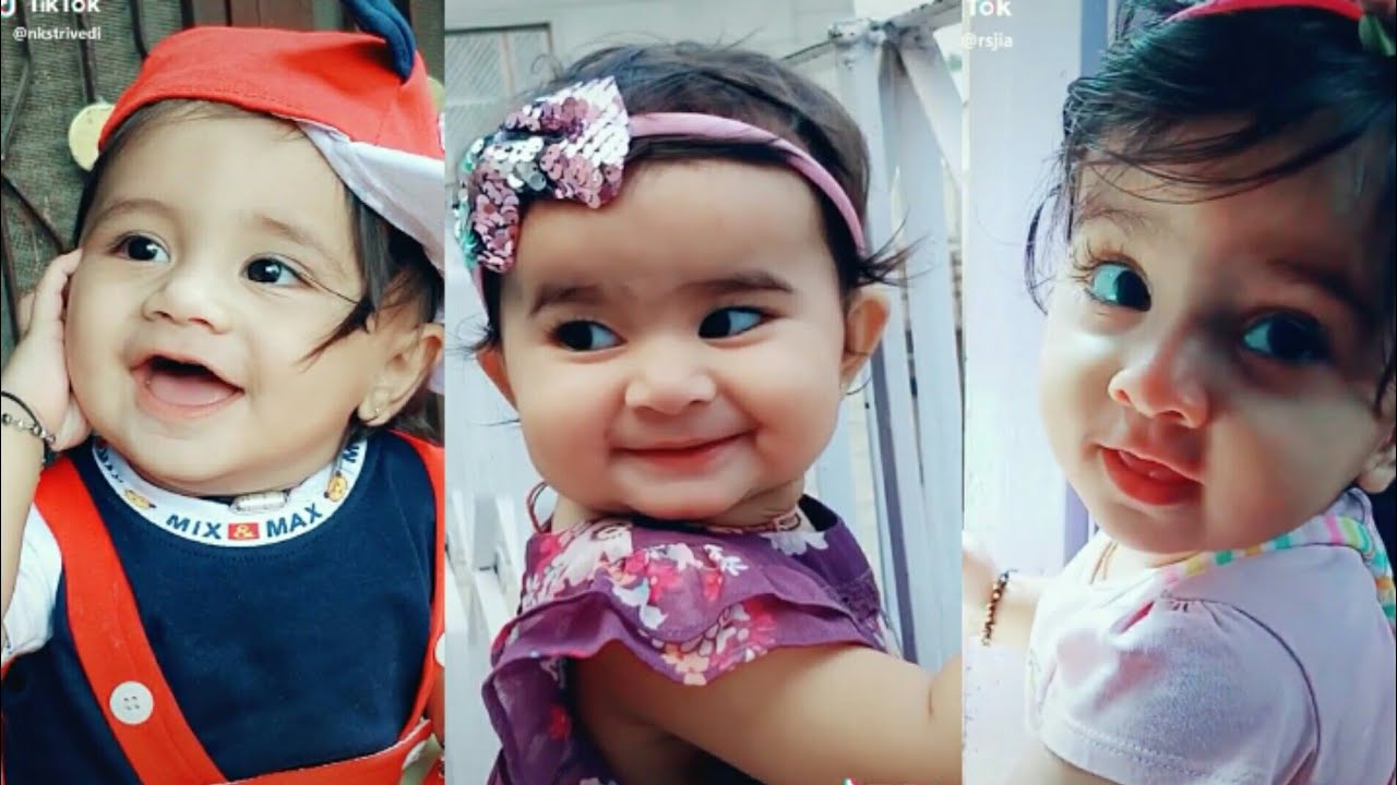 Today Viral Cute Baby Tik Tok Videos.Cute Baby😘😘😘 Latest ...