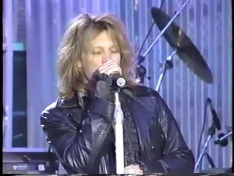 Bon Jovi Hall of fame 1995
