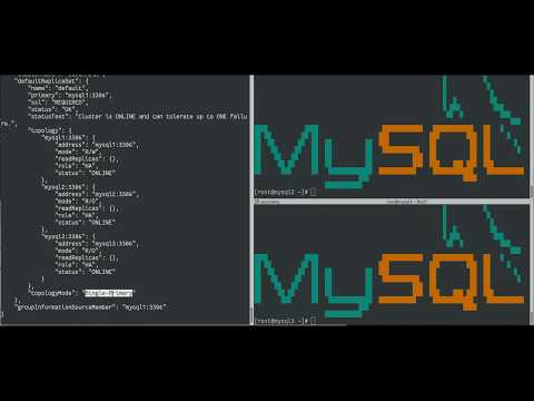 MySQL InnoDB Cluster 8.0: backup using MySQL Enterprise Backup