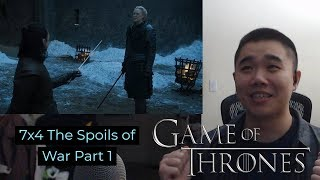 Game of Thrones 7x4: The Spoils of War- Reaction and Review Part 1!