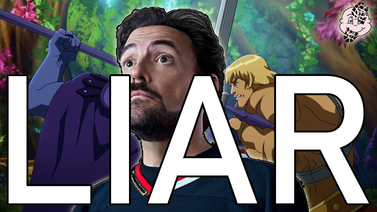 KEVIN SMITH is a LIAR!! He-Man is THE TELIA SHOW (and her girlfriend)!!
