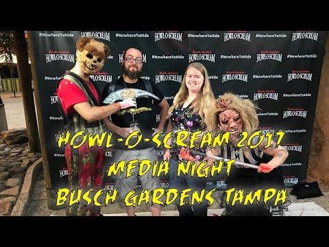Howl-O-Scream 2017 Media Night Tour & Review | Busch Gardens Tampa