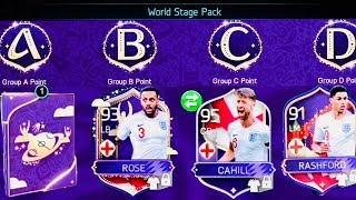 ALL GROUP REWARDS IN WORLD CUP STAGE - FREE ELITES / MASTERS PACKS OPENING - fifa mobile