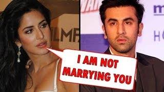 Katrina Kaif Turns Down Ranbir Kapoor's Marriage Proposal?
