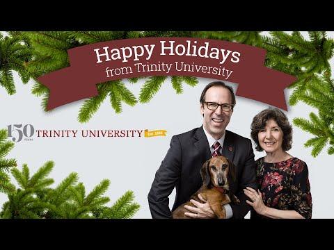 Happy Holidays from Trinity University