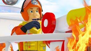 Sam le Pompier francais |  Meilleures sauvetages d'eau | Épisode Complet | Dessin animé