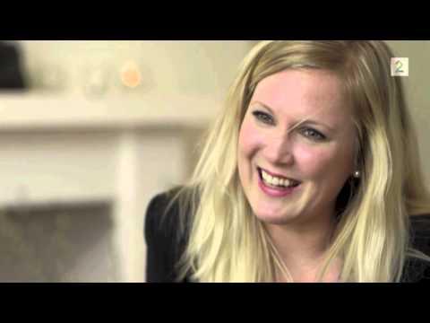 Kimberly Larsen portrait interview on Norwegian TV-channel TV2
