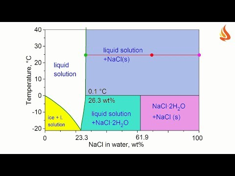 It's Cool! Part II. Phase Diagram Of The Water+sodium Chloride System