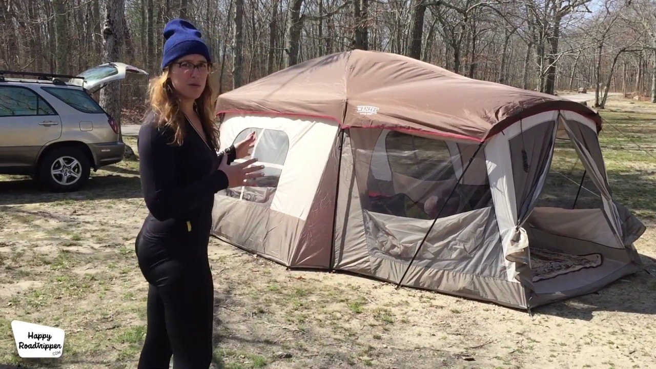 FOLLOW-UP Wenzel Klondike 8 Person Tent Review  sc 1 st  YouTube & FOLLOW-UP: Wenzel Klondike 8 Person Tent Review - YouTube