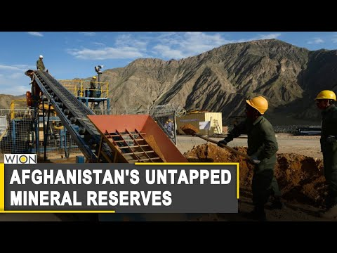 Afghan govt failed to monitise mineral reserves while Taliban earned millions | World News
