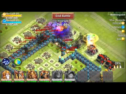 Ghoulem Double Evolved RIPPING Through Bases Owning 6 Heroes At A Time Castle Clash