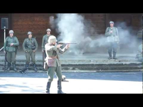 German Army Weapons Demo