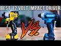 Best 12 Volt Impact Driver Tool Test - DeWalt  VS Makita