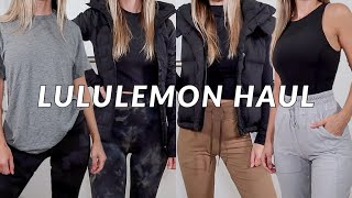 MASSIVE LULULEMON TRY-ON HAUL | FALL 2020