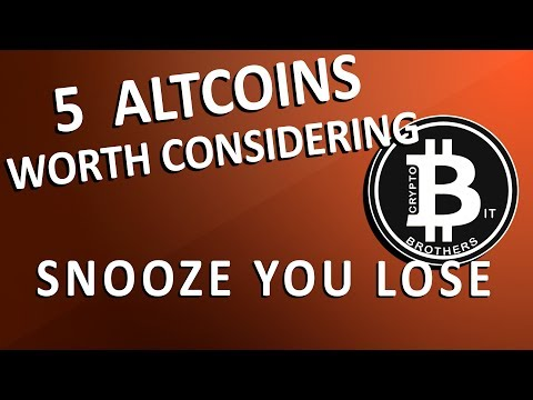 We take a look at 5 alt-coins and reasons why they might be worth investing in