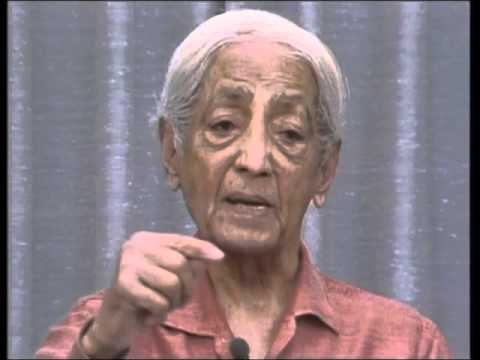 On thought being responsible for confusion | J. Krishnamurti