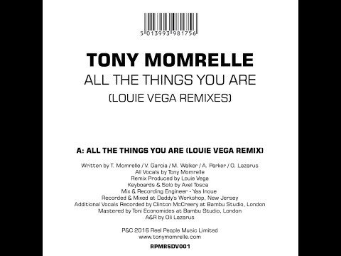 Tony Momrelle - All The Things You Are (Louie Vega Remix)