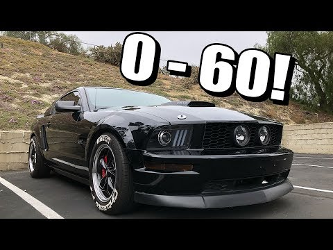Cammed Mustang GT 0-60 Test! Amazing Results!