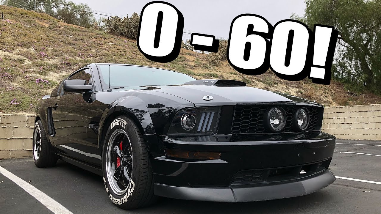 Mustang Gt 0 60 >> Cammed Mustang Gt 0 60 Test Amazing Results