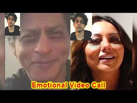 Download Aryan Khan Emotional Video Call to Shahrukh Khan and Gauri Khan