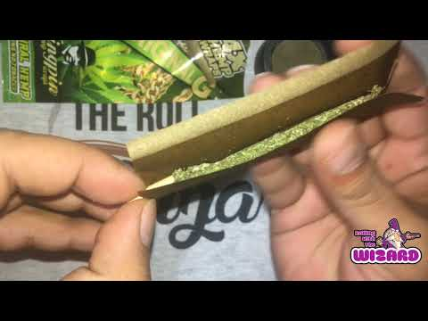 How to roll a blunt using a Kingpin Hemp Wrap