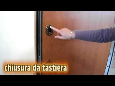 Porta blindata con serratura elettronica e scheda gsm - Paletto porta blindata ...