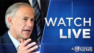 WATCH LIVE: Texas Gov. Greg Abbott's COVID-19 update on April 8, 2020