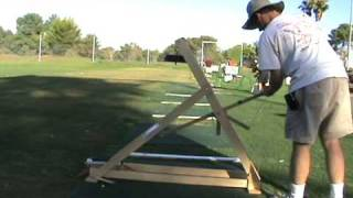 Golf Ball Trebuchet Testing