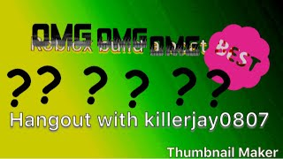 Playing killer gaming YTs game|roblox hangout with killerjay0807