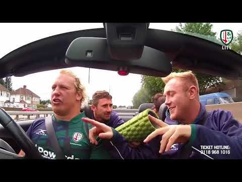 London Irish London Double Header Carpool Karaoke Part 1