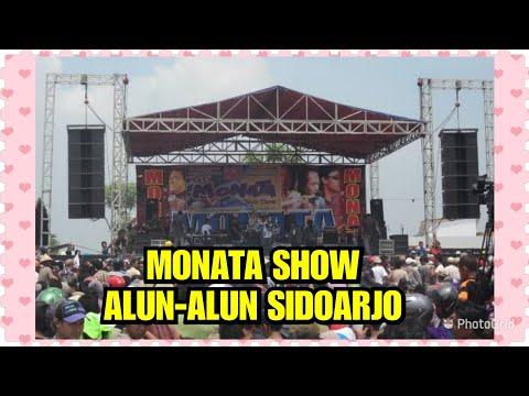 MONATA SHOW ALUN-ALUN SIDOARJO, SELOW DULU GAES 🤗