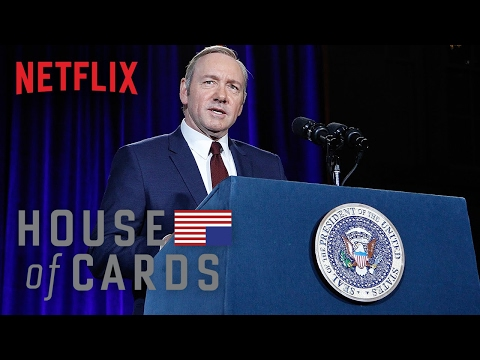 Frank Underwood Presidential Portrait Unveiling - House of Cards | Smithsonian NPG | Netflix