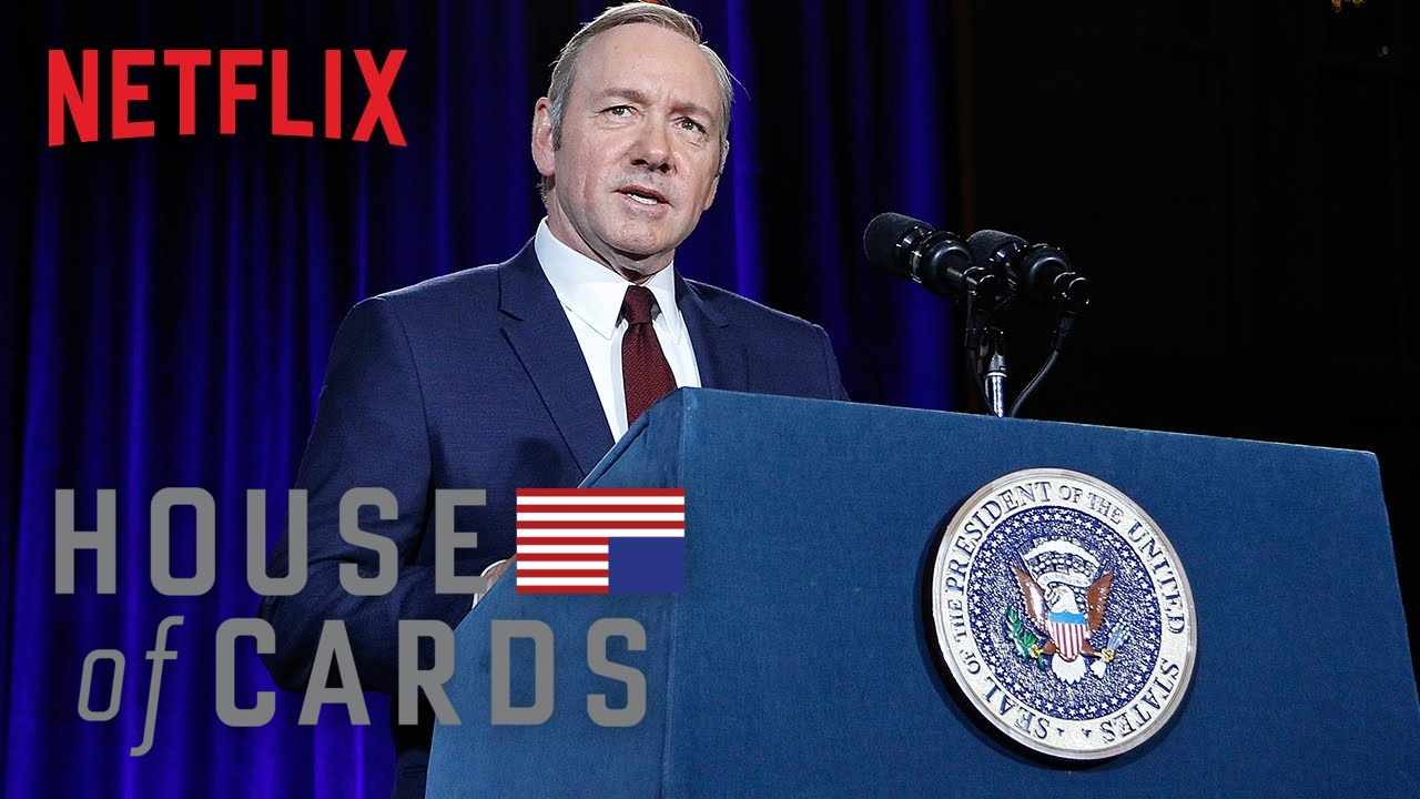 Download Frank Underwood Presidential Portrait Unveiling - House of Cards   Smithsonian NPG   Netflix