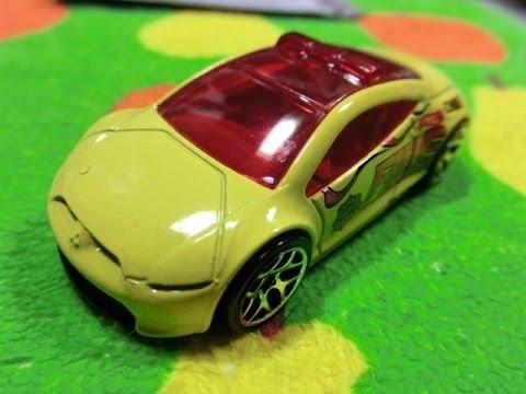 Hot Wheels Mitsubishi Eclipse Concept Car Youtube