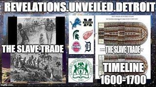 The SLAVE Trade Timeline-1600-1700    #IADOS