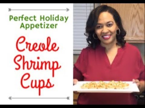Creole Shrimp Cups Recipe - Perfect Holiday Appetizer