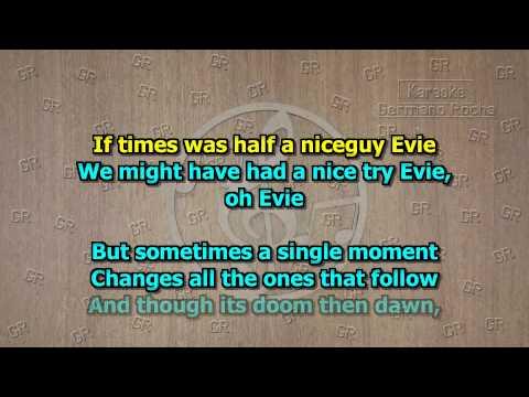 Johnny Mathis - Evie (Karaoke)