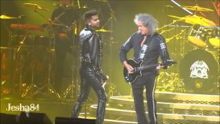 Queen ft. Adam Lambert - Fat Bottomed Girls - Philadelphia, PA 7/16/14
