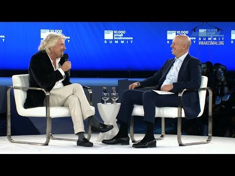 Sir Richard Branson: Leading with Vision and Taking on Challenges