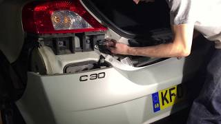 Volvo C30 Rear Bumper Removal R Design How to Guide