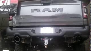 So Cal Muffler-2018 Dodge Ram 1500 Rebel-40 Series Flowmaster Installed