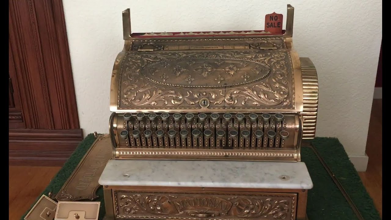 Cash register sale national for Antique Cash