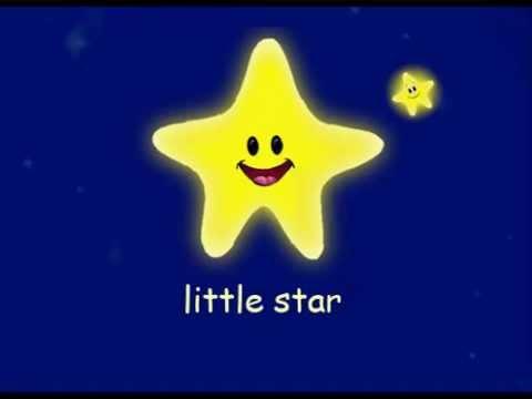Twinkle Twinkle Little Star Nursery Rhyme Cartoon Song