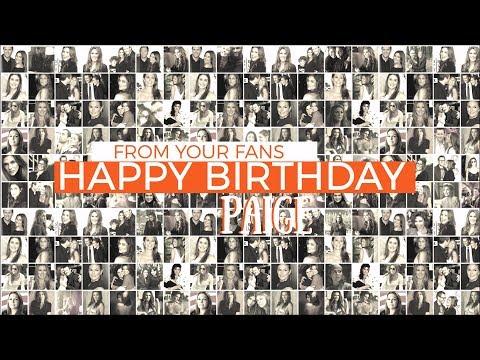 Why We Love Paige Turco Birthday Gift