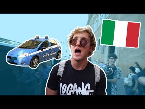 HOW LOGAN PAUL GOT ARRESTED IN ITALY