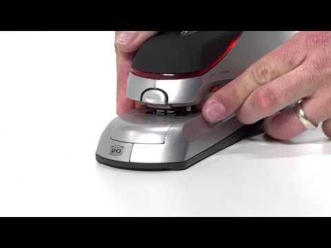 Swingline Optima 20 Sheet Electric Stapler YouTube