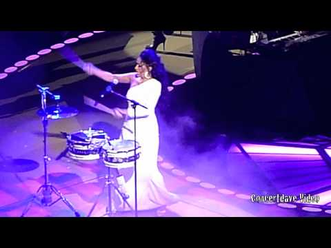 Sheila E. at Prince concert in Oakland. Ca.