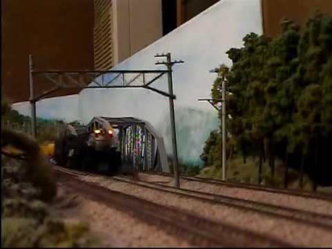 花月園 4-8-8-4 BIGBOY HO train UP HW passenger car